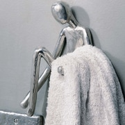 SOKObyJayeDesign Manhandles Hang Up Wall Decor; Satin Stainless