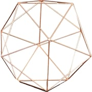 A&B Home Bursa Copper Orb Decor; Large