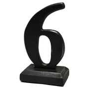 Vita V Home Number on Base Sculpture; 6