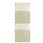 Urban Trends Metal Rectangle Wall Mail Organizer; Champagne