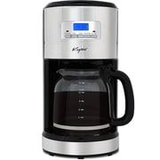 Keyton Automatic Drip Coffee Maker with Adjustable Brewing Modes and Settings - Stainless Steel - 12 Cup