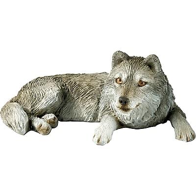 Sandicast Mid Size Sculptures Wolf Figurine WYF078280026939