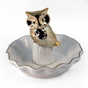 UnisonGifts Decorative Ceramic Ring Holder w/ Owl