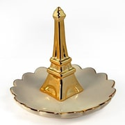 UnisonGifts Decorative Ceramic Ring Holder w/ Eiffel Tower