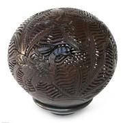 Novica Coconut Shell Sculpture