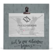 Paulson Designs Outdoors Our Adventure Begins Clip Picture Frame