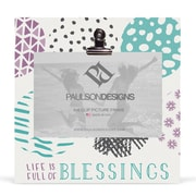 Paulson Designs Faith Full of Blessings Clip Picture Frame