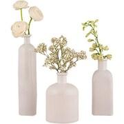 Weddingstar Glass 3 Piece Decor Bottle Set