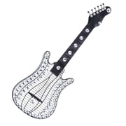 Woodland Imports Guitar Wall D cor