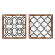 Woodland Imports 2 Piece Farley Wall Decor Set