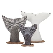 Woodland Imports Cara Fish Tail 3 Piece Wall Decor Set