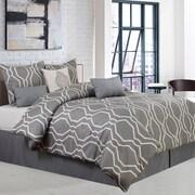 Nanshing America, Inc Dacian 7 Piece Comforter Set (Set of 7); King