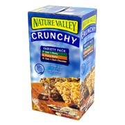 Nature Valley Crunchy Granola Variety Pack, 49 Count (220-00452)