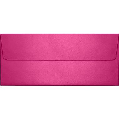 LUX Peel & Press #10 Square Flap Envelopes (4 1/8 x 9 1/2) 1000/Box, Azalea Metallic (5360-24-1000)