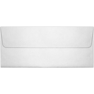 LUX Peel & Press #10 Square Flap Invitation Envelopes (4 1/8 x 9 1/2) 50/Pack, Crystal Metallic (5360-30-50)