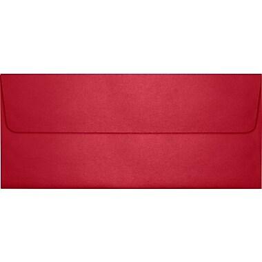 LUX Peel & Press #10 Square Flap Envelopes (4 1/8 x 9 1/2) 50/Pack, Jupiter Metallic (5360-20-50)