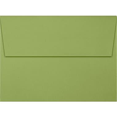 LUX A7 Invitation Envelopes (5 1/4 x 7 1/4) 50/Box, Avocado (EX4880-27-50)