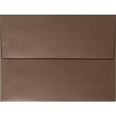 LUX A7 Invitation Envelopes (5 1/4 x 7 1/4) 50/Box, Bronze Metallic (5380-12-50)