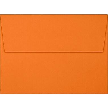 LUX A7 Invitation Envelopes (5 1/4 x 7 1/4) 250/Box, Mandarin (EX4880-11-250)