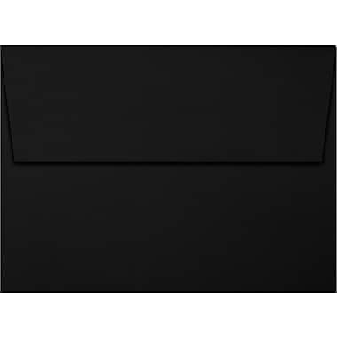 LUX A7 Invitation Envelopes (5 1/4 x 7 1/4) 500/Box, Midnight Black (F-4580-B-1000)