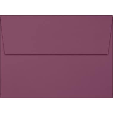 LUX A7 Invitation Envelopes (5 1/4 x 7 1/4) 500/Box, Vintage Plum (LUX-4880-104500)