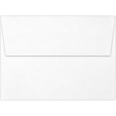 LUX A7 Invitation Envelopes (5 1/4 x 7 1/4) 50/Box, White Linen (4880-WLI-50)
