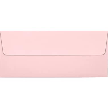 LUX Peel & Press #10 Square Flap Envelopes (4 1/8 x 9 1/2) 250/Box, Candy Pink (EX4860-14-250)
