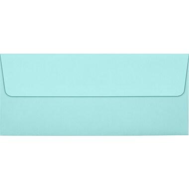 LUX Peel & Press #10 Square Flap Envelopes (4 1/8 x 9 1/2) 1000/Box, Seafoam (LUX-48601131000)