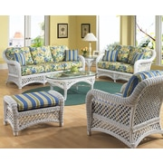ElanaMar Designs Lanai Arm Chair; Natural