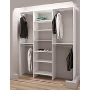TidySquares Inc, Demure Design 69''W Closet System