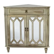 Heather Ann 1 Drawer 2 Door Chest; Antique Beige