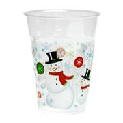 Kovot Snowman 16 oz. Plastic Everday Cup (Set of 50)