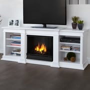 Real Flame Fresno TV Stand; White