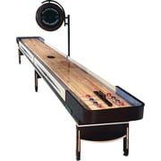 Playcraft Telluride Espresso Shuffleboard Table; 16' D