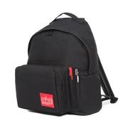 Manhattan Portage Big Apple Backpack With Pen Holder, Medium Size, Black (1210-BD-2 BLK)