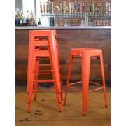 AmeriHome Loft Metal 30'' Bar Stool (Set of 4)