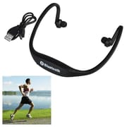 Insten® Universal Wireless Bluetooth Sports Headset with Microphone Black (1955634)