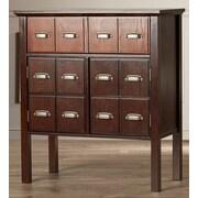 Darby Home Co Hecker Vintage 2 Drawer Storage Cabinet
