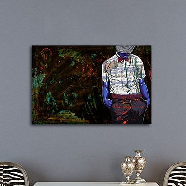 Maxwell Dickson The Gentleman Graphic Art on Wrapped Canvas; 24'' H x 36'' W