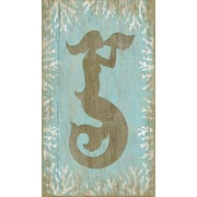 Vintage Signs Wood Mermaid Wall Art by Suzanne Nicoll Graphic Art Plaque