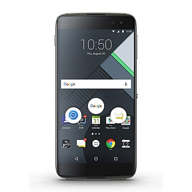 BlackBerry DTEK60 BBA100-1 32GB Unlocked GSM 4G LTE Quad-Core Android Phone w/ 21MP Camera - Black