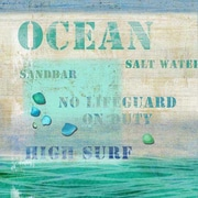 Vintage Signs Ocean Wall Art by Suzanne Nicoll Vintage Advertisement Plaque