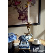 Westmen Lights Elephant Porcelain Candlestick