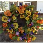 Flora Decor 22'' Spring Meadows Wreath