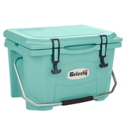 Grizzly Coolers 20 Qt. RotoMolded Cooler; Sea Foam Green