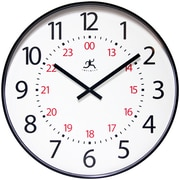 "Infinity Instruments 19.875""  Wall Clock, Mercantile"
