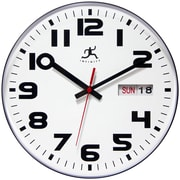 "Infinity Instruments 11.125""  Wall Clock, Day/Date"