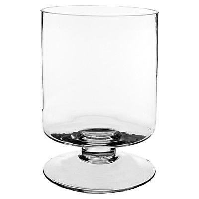 CYSExcel Glass Hurricane (Set of 4); 9'' H x 6'' W x 6'' D WYF078280039434