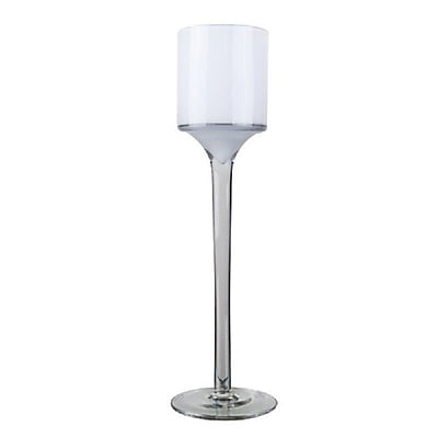 CYSExcel Glass Votive (Set of 6); 9'' H x 2.5'' W x 2.5'' D WYF078280039454