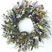 Dried Flowers and Wreaths LLC Nest 22'' Wreath